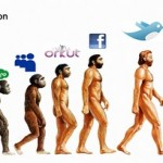 Funny Social Evolution Graphic
